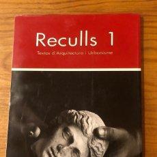Libros: RECULLS1(13€). Lote 157386198