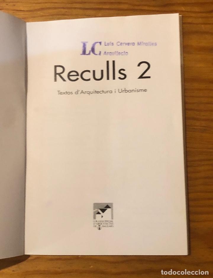 Libros: Reculls2(13€) - Foto 2 - 157386254