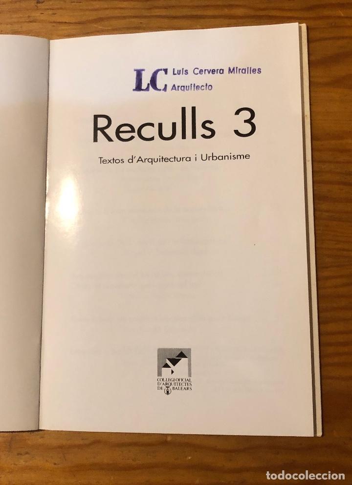 Libros: Reculls3(13€) - Foto 2 - 157386334