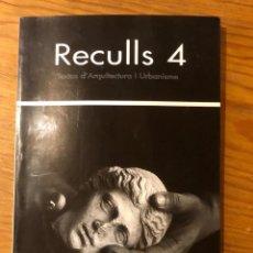 Libros: RECULLS4(13€). Lote 157386410