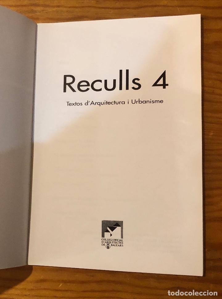 Libros: Reculls4(13€) - Foto 2 - 157386410