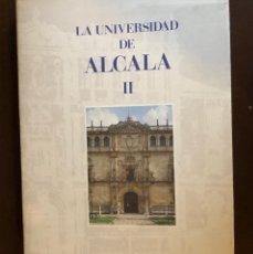 Libros: LA UNIVERSIDAD DE ALCALA-TOMO II(22€). Lote 157386742