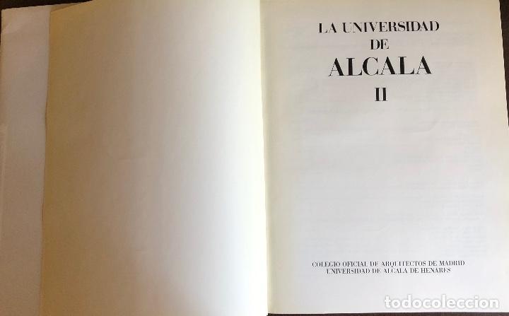 Libros: LA UNIVERSIDAD DE ALCALA-TOMO II(22€) - Foto 2 - 157386742