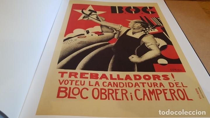 Libros: CARTELLS CATALANS / LA REPÚBLICA / ELS ANYS DE CONSTRUCCIÓ 1930-1936 / LIBRO NUEVO - Foto 32 - 158569426