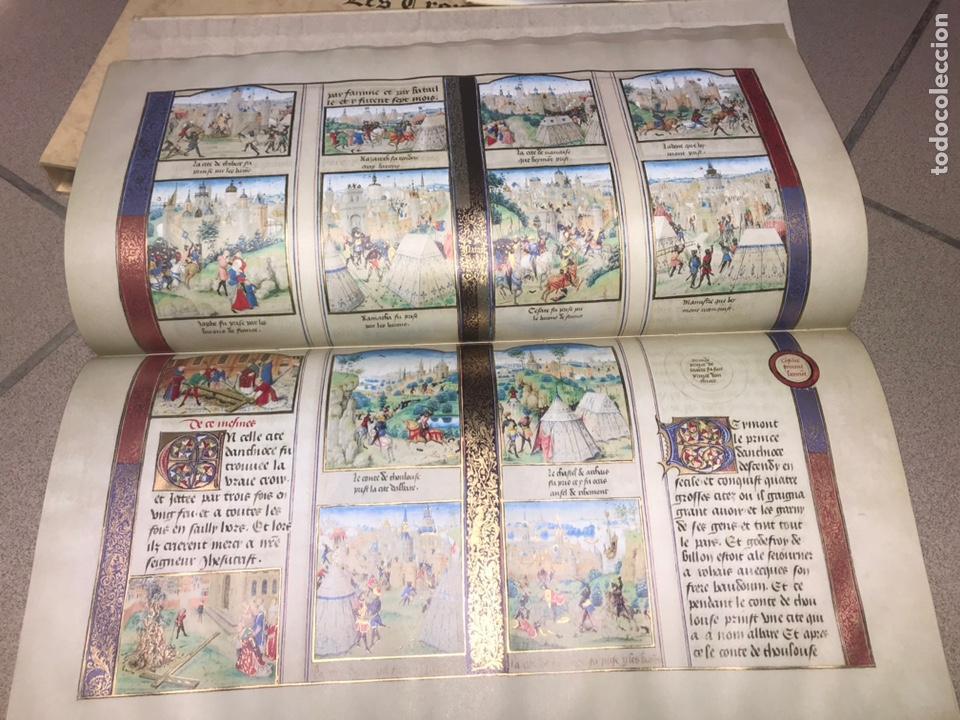Libros: LAS CRÓNICAS DE LAS CRUZADAS DE JERUSALÉN, AÑO 1455. VERSOL TIRADA DE 575 EJEMPLARES. - Foto 8 - 161813778