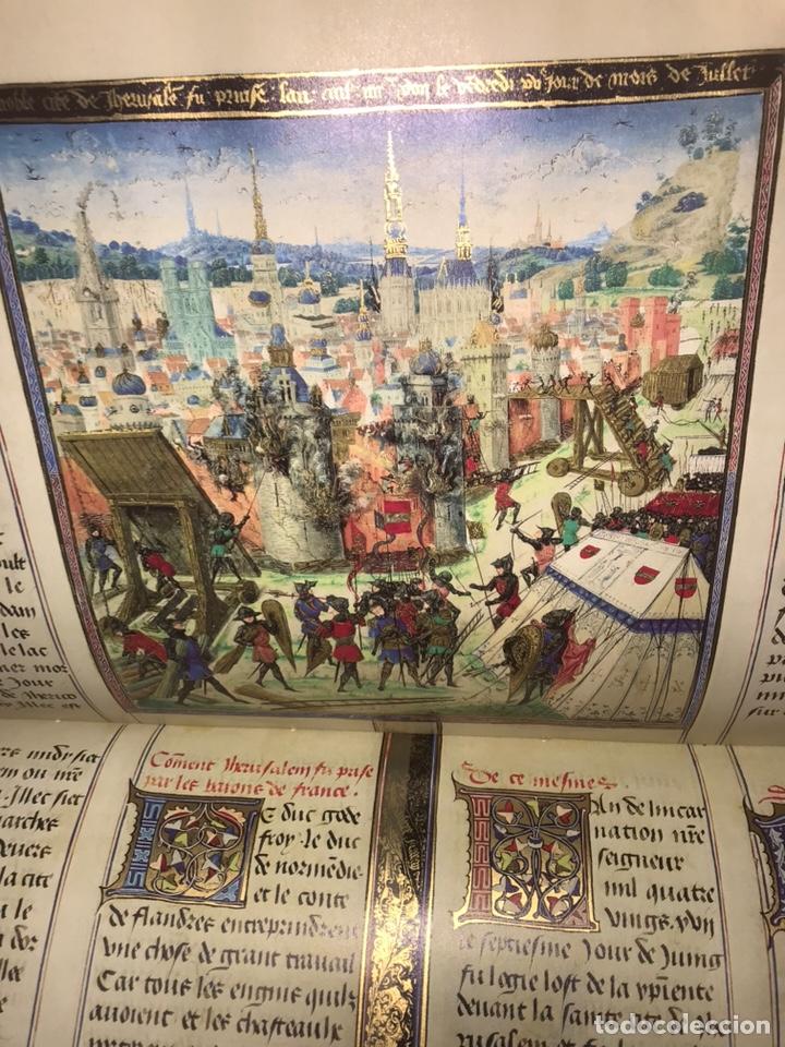 LAS CRÓNICAS DE LAS CRUZADAS DE JERUSALÉN, AÑO 1455. VERSOL TIRADA DE 575 EJEMPLARES. (Libros Nuevos - Bellas Artes, ocio y coleccionismo - Otros)