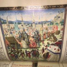 Libros: LAS CRÓNICAS DE LAS CRUZADAS DE JERUSALÉN, AÑO 1455. VERSOL TIRADA DE 575 EJEMPLARES.. Lote 161813778