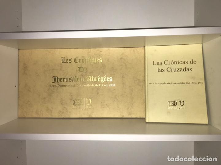 Libros: LAS CRÓNICAS DE LAS CRUZADAS DE JERUSALÉN, AÑO 1455. VERSOL TIRADA DE 575 EJEMPLARES. - Foto 2 - 161813778