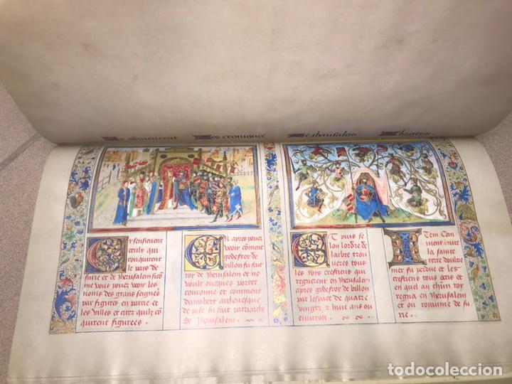 Libros: LAS CRÓNICAS DE LAS CRUZADAS DE JERUSALÉN, AÑO 1455. VERSOL TIRADA DE 575 EJEMPLARES. - Foto 6 - 161813778