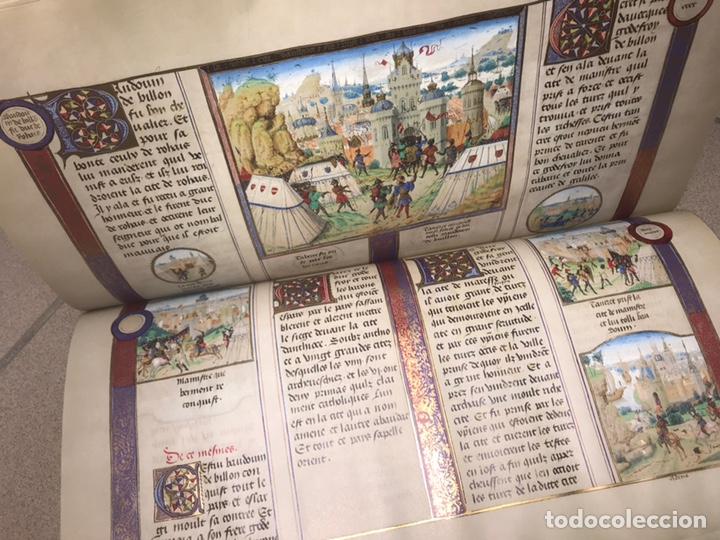 Libros: LAS CRÓNICAS DE LAS CRUZADAS DE JERUSALÉN, AÑO 1455. VERSOL TIRADA DE 575 EJEMPLARES. - Foto 7 - 161813778