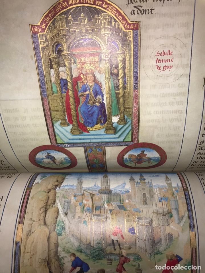 Libros: LAS CRÓNICAS DE LAS CRUZADAS DE JERUSALÉN, AÑO 1455. VERSOL TIRADA DE 575 EJEMPLARES. - Foto 9 - 161813778