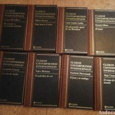 Libros: CLÁSICOS CONTEMPORÁNEO INTERNACIONALES 8 VOLÚMENES. Lote 163443233