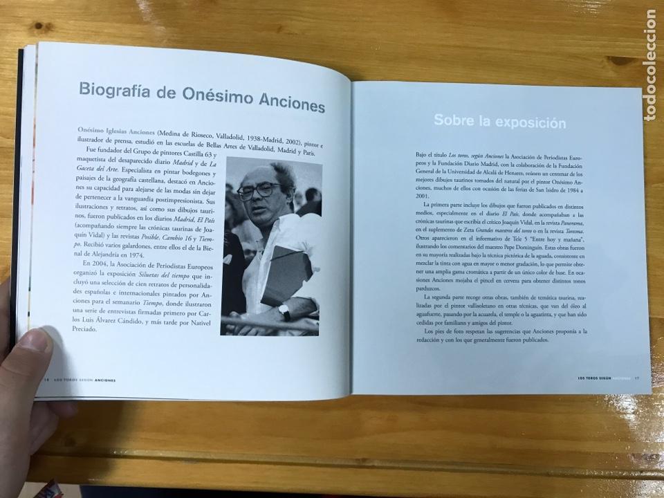 Libros: LOS TOROS SEGÚN ANCIONES. - Foto 7 - 165233229
