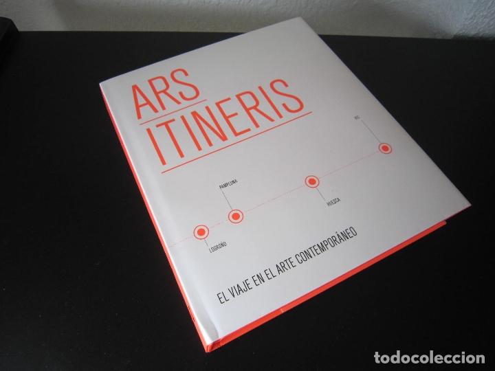 LIBRO - ARTE - ARS ITINERIS (EL VIAJE EN EL ARTE CONTEMPORÁNEO) - 2010 - MUSEO DE NAVARRA (PAMPLONA) (Libros Nuevos - Bellas Artes, ocio y coleccionismo - Otros)