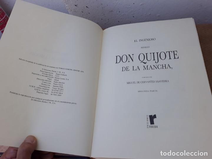 Libros: 2 tomos de donquikote - Foto 5 - 167712428