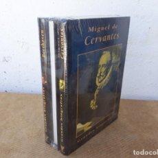 Libros: 3 VOLUMENES DE BIOGRAFIA DE M.CERVANTE. Lote 167712848