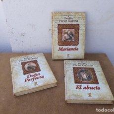 Libros: 3 LIBROS DE PERZ GALDOS. Lote 167712908