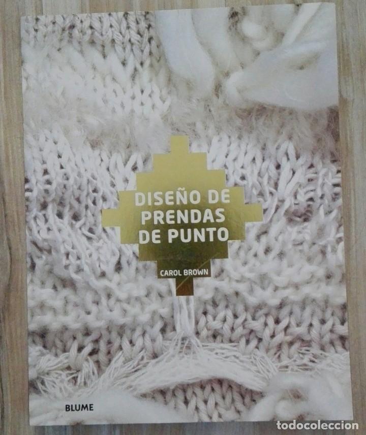 LIBRO DISEÑO DE PRENDAS DE PUNTO (Libros Nuevos - Bellas Artes, ocio y coleccionismo - Otros)