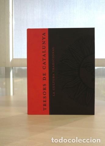 Libros: TRESORS DE CATALUNYA. LA CULTURA TRADICIONAL . GRUP ENCICOPEDIA CATALANA 2004 – NUEVO A ESTRENAR - Foto 2 - 172238643