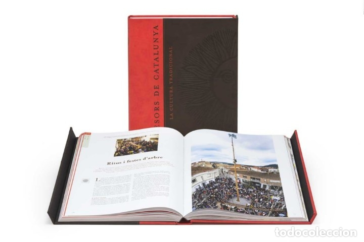 TRESORS DE CATALUNYA. LA CULTURA TRADICIONAL . GRUP ENCICOPEDIA CATALANA 2004 – NUEVO A ESTRENAR (Libros Nuevos - Bellas Artes, ocio y coleccionismo - Otros)