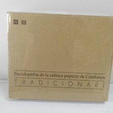 Libros: ENCICLOPÈDIA DE LA CULTURA POPULAR DE CATALUNYA, TRADICIONARI .- EJEMPLAR Nº 5 NUEVO E CATALANA. Lote 172239398