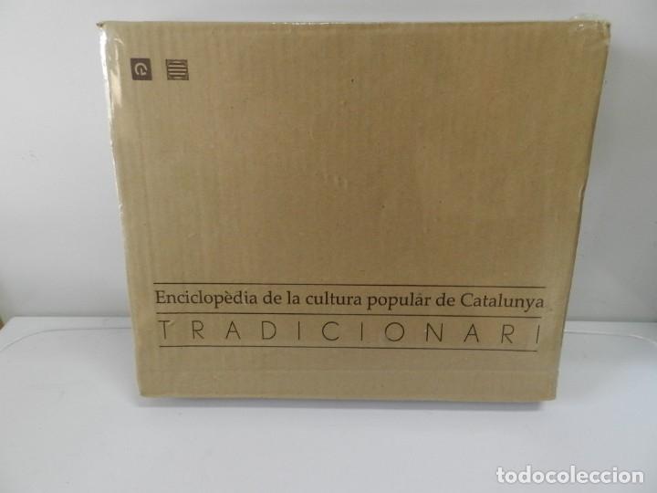 Libros: ENCICLOPÈDIA DE LA CULTURA POPULAR DE CATALUNYA, TRADICIONARI .- EJEMPLAR Nº 5 NUEVO E CATALANA - Foto 3 - 172239398