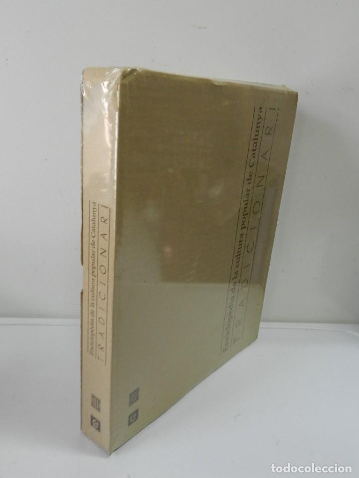 ENCICLOPÈDIA DE LA CULTURA POPULAR DE CATALUNYA, TRADICIONARI .- EJEMPLAR Nº 8 NUEVO A ESTRENAR (Libros Nuevos - Bellas Artes, ocio y coleccionismo - Otros)