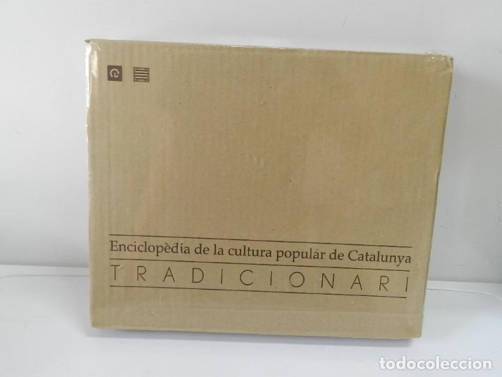Libros: ENCICLOPÈDIA DE LA CULTURA POPULAR DE CATALUNYA, TRADICIONARI .- EJEMPLAR Nº 8 NUEVO A ESTRENAR - Foto 2 - 172239448