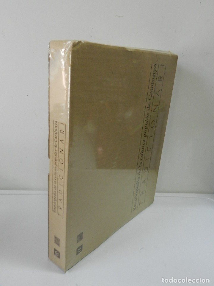 ENCICLOPÈDIA DE LA CULTURA POPULAR DE CATALUNYA, TRADICIONARI .- EJEMPLAR Nº 6 NUEVO E CATALANA (Libros Nuevos - Bellas Artes, ocio y coleccionismo - Otros)