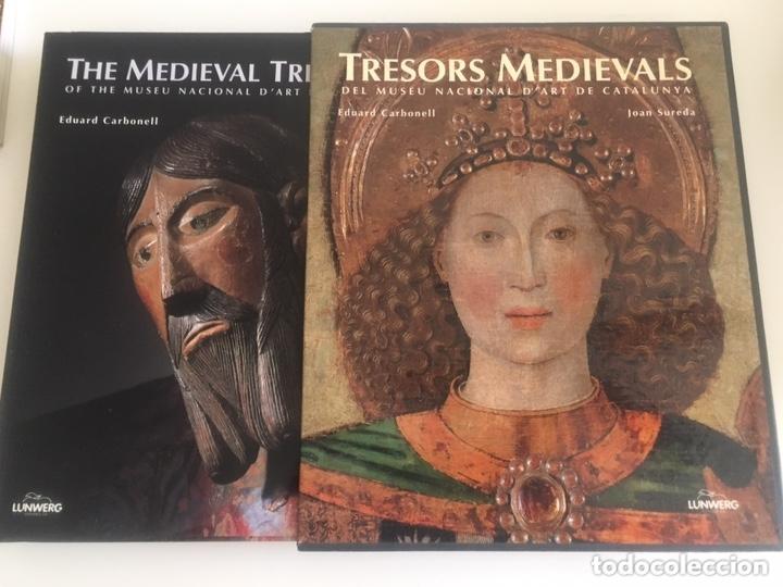 Libros: Tresors medievals del museu nacional D'art de Catalunya Eduard Carbonell Joab Sureda - Foto 2 - 174150765