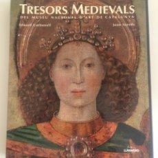 Libros: TRESORS MEDIEVALS DEL MUSEU NACIONAL D'ART DE CATALUNYA EDUARD CARBONELL JOAB SUREDA. Lote 174150765