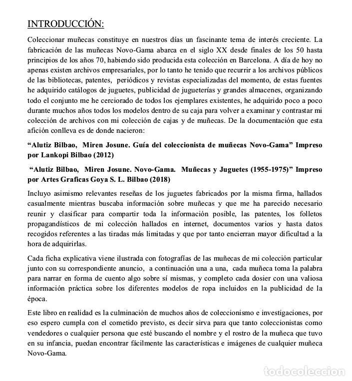 Libros: Novo-Gama Muñecas y Juguetes.(1955-1975) Miren Josune Alutiz Bilbao - Foto 5 - 218062507