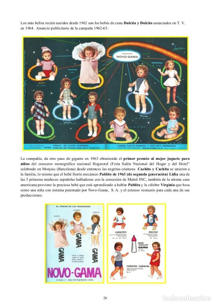 Libros: Novo-Gama Muñecas y Juguetes.(1955-1975) Miren Josune Alutiz Bilbao - Foto 7 - 218062507