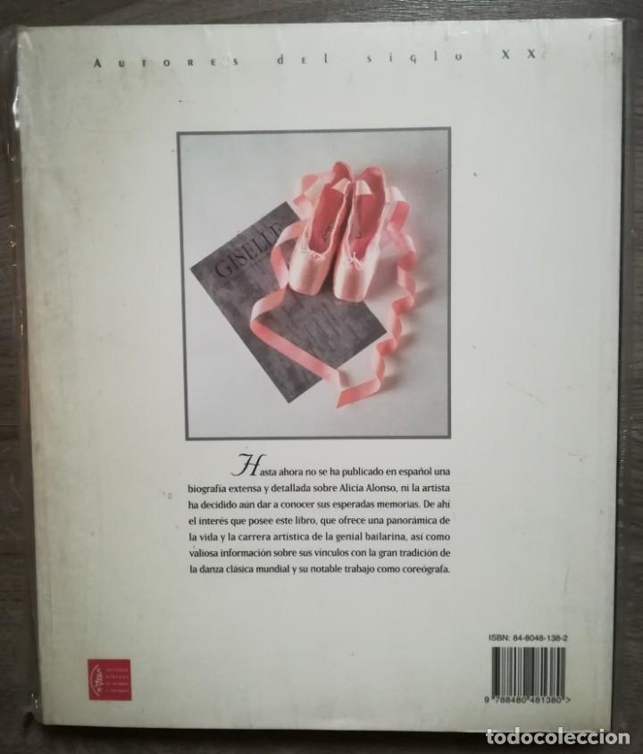 Libros: ALICIA ALONSO. Órbita de una leyenda, 1996.Nuevo, con precinto original - Foto 2 - 176374810