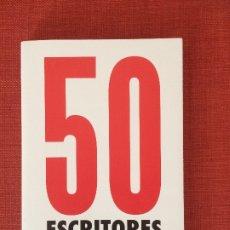 Libros: 50 ESCRITORES. DIBUJOS DE CÉSAR FERNÁNDEZ ARIAS. Lote 201310562