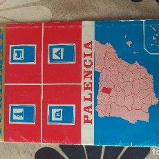 Libros: MAPAS PALENCIA ZAMORA LEÓN BURGOS AVILA SALAMANCA EDITORIAL HERNANDO 1977. Lote 178154540
