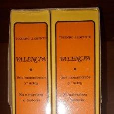 Libros: VALENCIA. SUS MONUMENTOS Y ARTES. SU NATURALEZA E HISTORIA. TEODORO LLORENTE. 2 VOLS.. Lote 179197596