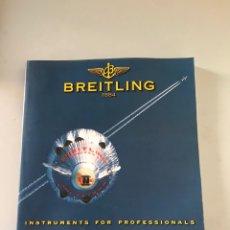 Libros: CATÁLOGO DE BREITLING. Lote 179551052