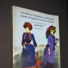 Libros: VICTORIAN FASHIONS & COSTUMES FROM HARPERS BAZAR: 1867-1898. ESTELLA BLUM. 1974. Lote 182156332
