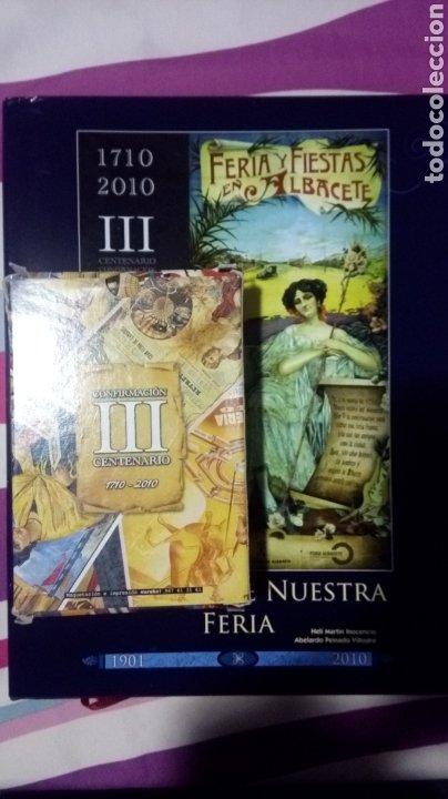 Libros: Albacete. Carteles de nuestra feria. Libro + postales - Foto 2 - 182890050