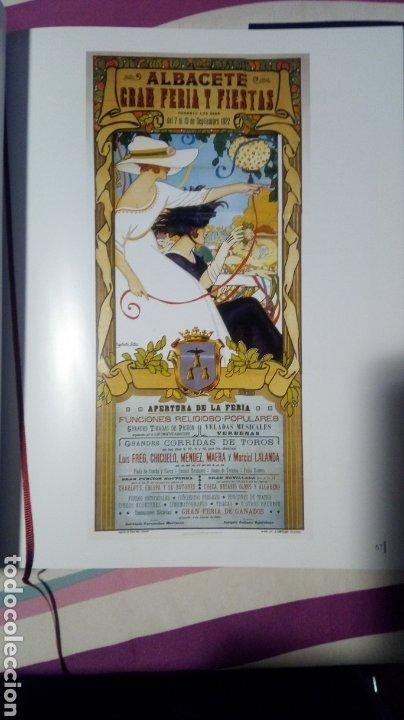 Libros: Albacete. Carteles de nuestra feria. Libro + postales - Foto 3 - 182890050