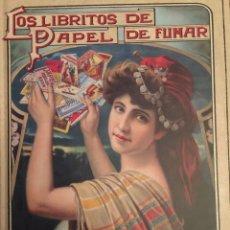 Livros: LOS LIBRITOS DE PAPEL DE FUMAR - 1A EDICIÓN 2018 - 576 PAGS- LA MAYOR COLECCIÓN DE LIBRITOS DE PAPEL. Lote 183037773