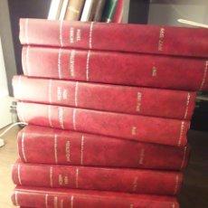 Libros: COLECCIÓN MAQUE TREN, 9 TOMOS. Lote 183200402