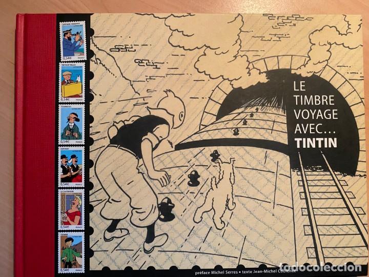 LE TIMBRE VOYAGE AVEC...TINTIN (Libros Nuevos - Bellas Artes, ocio y coleccionismo - Otros)