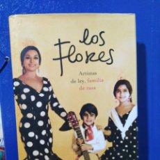 Libros: LOS FLORES CARMEN DOMINGO + CD INEDITO. Lote 191415368