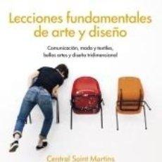 Libros: LECCIONES FUNDAMENTALES DE ARTE Y DISEÑO. Lote 194279198