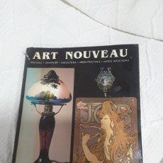 Libros: ART NOUVEAU PINTURA GRABADO ESCULTURA ARQUITECTURA ARTES..... Lote 194376713