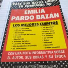 Libros: EMILIA PARDO BAZÁN. Lote 194393922