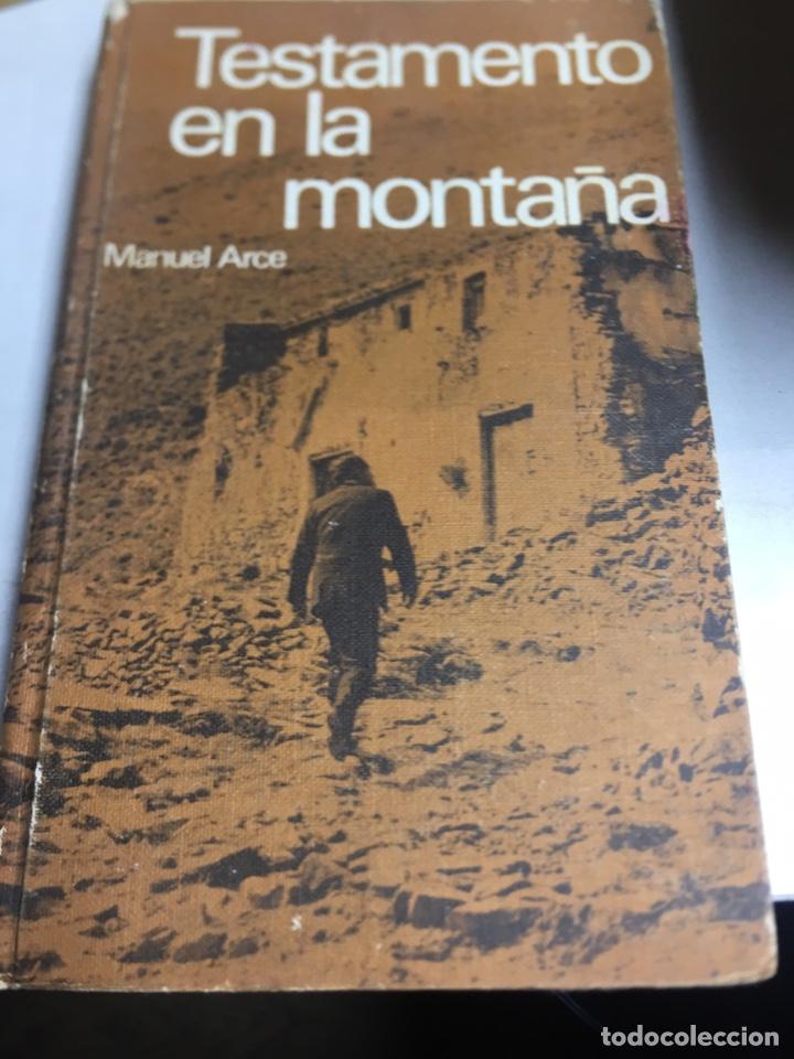 LIBRO - TESTAMENTO EN LA MONTAÑA - MANUEL ARCE (Libros Nuevos - Bellas Artes, ocio y coleccionismo - Otros)