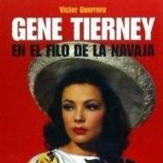 Libros: GENE TIERNEY. Lote 195505701